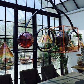 Geodesic Ceiling Lamp - Klove Studio - Treniq