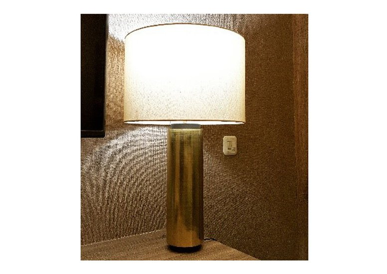 Brass pillar table lamp lightvolution treniq 1 1536742146547