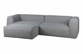 Domino Xxl Sofa - Fabric - 4 Seater Sofa + Pouf