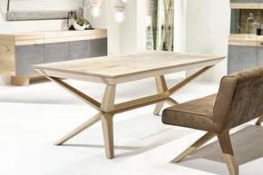 Organo Dining Table No Extension Oak