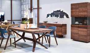 Organo Dining Table No Extension Walnut