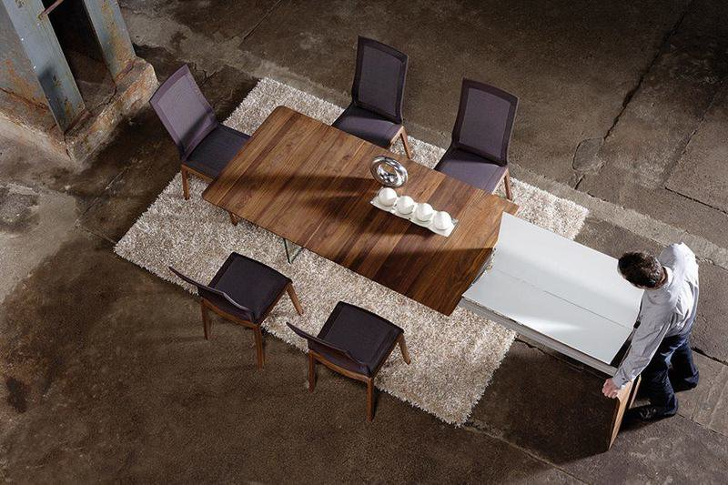Table design en noyer 2