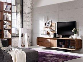 Tv And Multi-Media Unit - Walnut