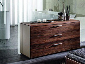 Designer Chest Of Drawers In Walnut Big