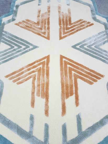 Detail 1 rug tapis frankee martin schiller design studio