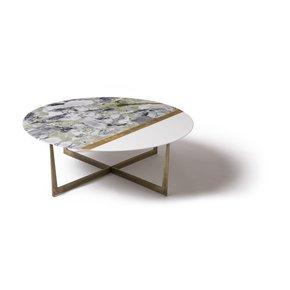 Slice Of Jupiter White Thasos-White Beauty-Gold-100