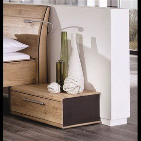 Designer Nightstand In Oak