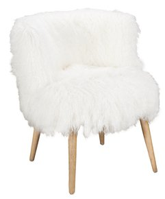 White Kodiak Armchair