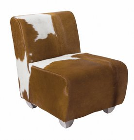 Jason Cowhide Armchair