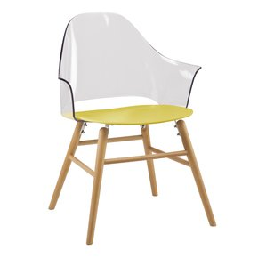 Yellow Ravena Dining Chair