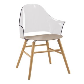 Taupe Ravena Dining Chair