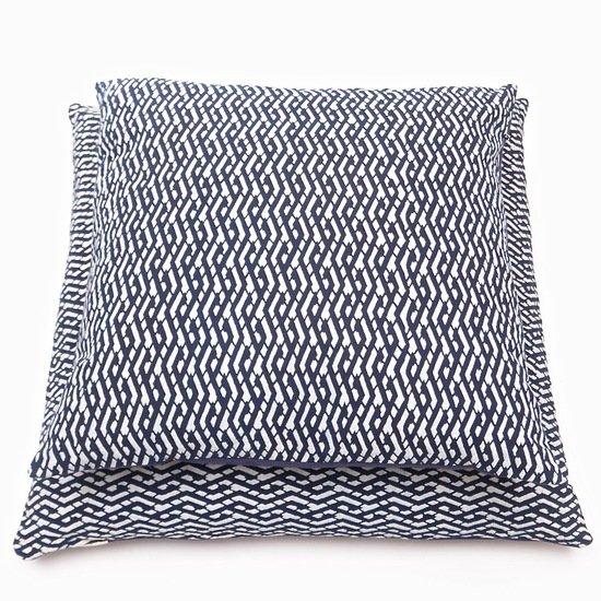 Lattice lines pattern cushion bluehanded ltd treniq 1 1537433310668