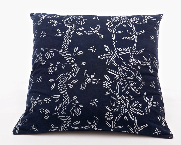 Birds and bees pattern cushion (l) bluehanded ltd treniq 1 1537470152536