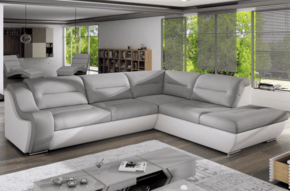 Norman C Corner Sofa Bed