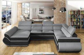 Genas XL Corner Sofa Bed