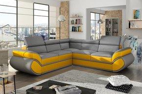 Genas L Corner Sofa Bed