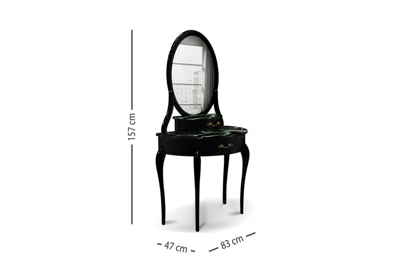 Audrey dressing table kailra design treniq 5