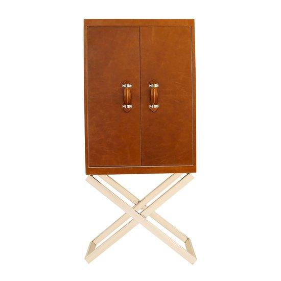 Handcrafted standing genuine leather bespoke bar cabinet wine bottle holder magus designs treniq 5 1538652423347