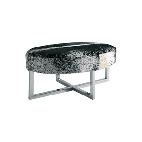Genuine-Hair-On-Leather-Stainless-Steel-Home-Bedroom-Stool_Magus-Designs_Treniq_0