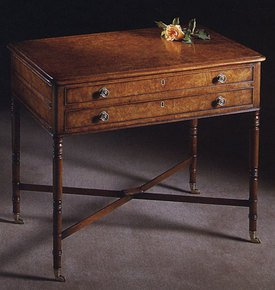 Early-19th-Century-Style-Burr-Maple-Side-Table_Arthur-Brett_Treniq_0