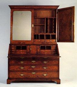 George-I-Style-Walnut-Bureau-Bookcase_Arthur-Brett_Treniq_0