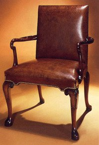George-I-Style-Walnut-Open-Arm-Chair-In-Customers-Own-Material_Arthur-Brett_Treniq_0