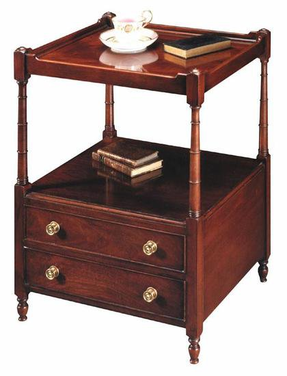 Gany 2 Tier End Table