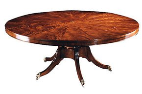 "Mahogany-84""Radial-Extending-Circ-Table-With-Inner-Apron_Arthur-Brett_Treniq_0"