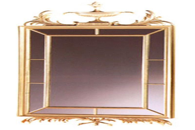 Mahogany carved mirror  arthur brett treniq 1 1539164000450