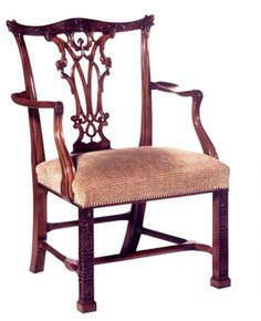 Mahogany-Carved-Arm-Chair-In-Customer's-Own-Material_Arthur-Brett_Treniq_0