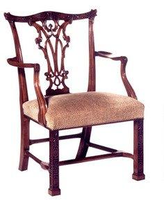 Mahogany-Carved-Arm-Chair-In-Customer's-Own-Material_Arthur-Brett_Treniq_0