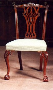 Mahogany-Claw/Ball-Side-Chair-In-Customers-Own-Material_Arthur-Brett_Treniq_0