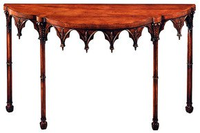 Mahogany-Gothic-Side-Table_Arthur-Brett_Treniq_0