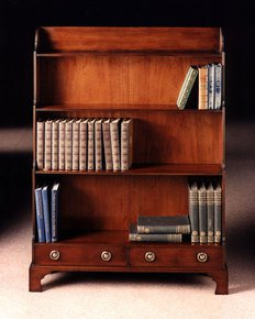 Mahogany-Standing-Bookshelf-To-Have-X-Antique-Finish_Arthur-Brett_Treniq_0
