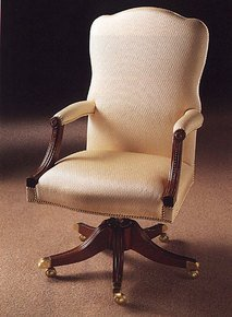 Mahogany-Swivel-Chair-In-X-Antique-Finish-In-Customers-Own-Leather_Arthur-Brett_Treniq_0