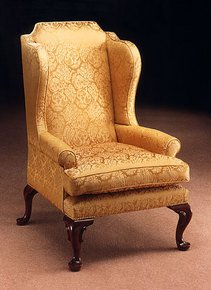 Mahogany-Wing-Chair-In-Customers-Own-Material_Arthur-Brett_Treniq_0