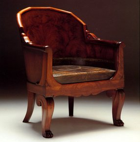 Napoleon-Campaign-Chair-In-Customers-Own-Leather_Arthur-Brett_Treniq_0