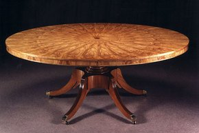 Oval-Extending-Dining-Table-With-Olivewood-Veneers_Arthur-Brett_Treniq_0