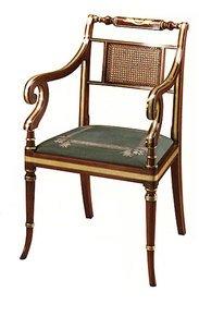 Regency-Style-Arm-Chair-In-Rosewood-Colour-In-Customers-Own-Material_Arthur-Brett_Treniq_0