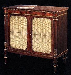 Rosewood-And-Gilt-Cabinet-With-Com-Behind-Doors_Arthur-Brett_Treniq_0