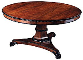 Rosewood-Circular-Centre-Table-With-Ebonised-Trim,-X-Finish_Arthur-Brett_Treniq_0