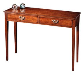 Shallow-Mahogany-2-Drawer-Side-Table_Arthur-Brett_Treniq_0