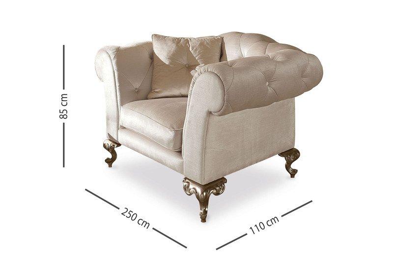 George poltrona armchair cantori treniq 5