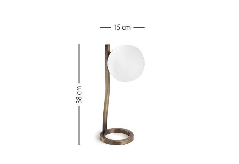 Noa sfera abat jour bedside lamp cantori treniq 5
