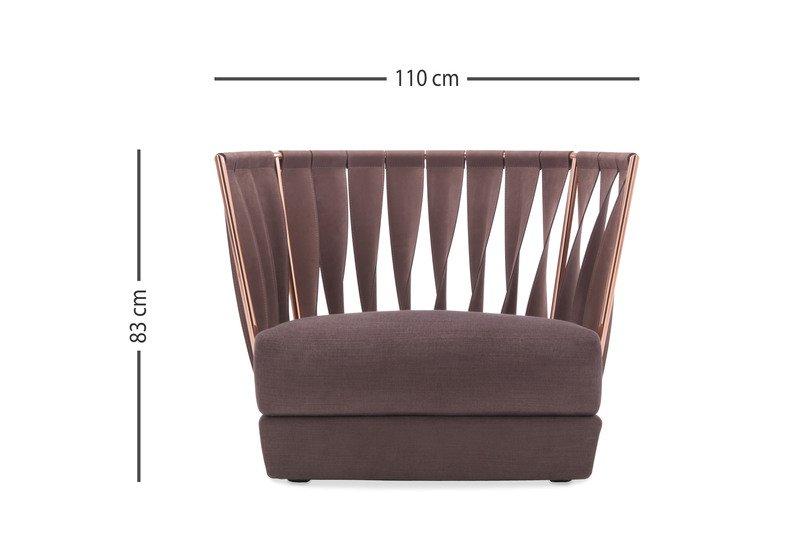 Twist divano armchair cantori treniq 6