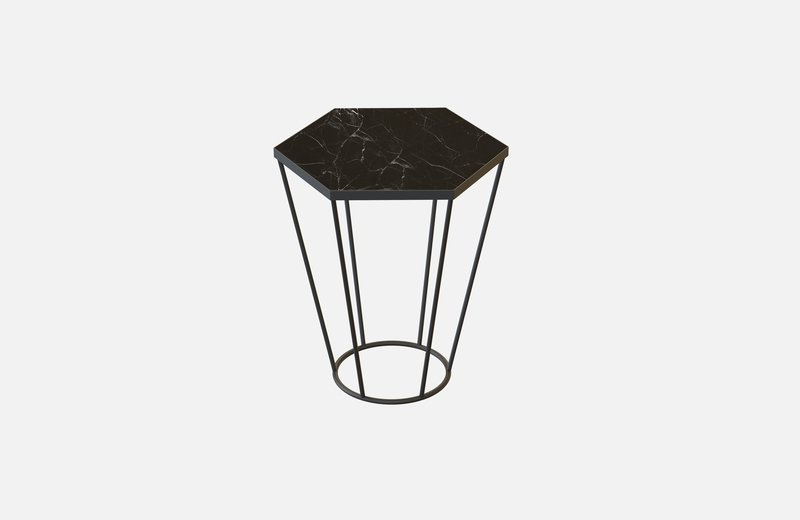 Sei coffee table black with black marble miist treniq 3 1540474783327