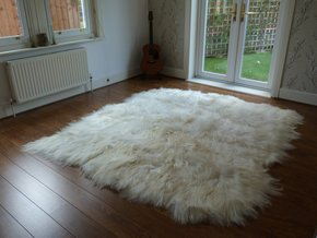 Icelandic Sheepskin Rug Natural 8 Skin