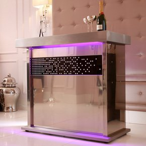 Champagne Crystal Home Bar