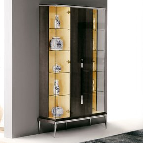 London Collection Designer Three Door Display Cabinet