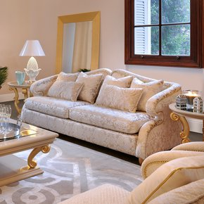 High End Modern Glamour 2 Seater Sofa